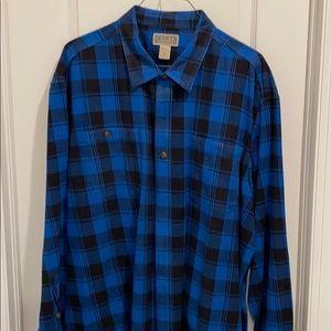 Duluth Trading men's flannel 3XL shirt
